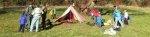 Obóz harcerski dla dzieci